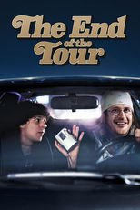 "Poster for the movie ""The End of the Tour"""
