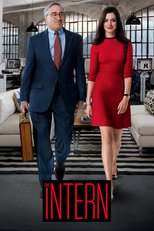 "Poster for the movie ""The Intern"""