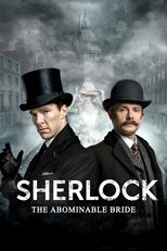 "Poster for the movie ""Sherlock: The Abominable Bride"""