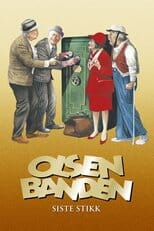 "Poster for the movie ""Olsenbandens siste stikk"""