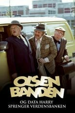 "Poster for the movie ""Olsenbanden og Data-Harry sprenger verdensbanken"""